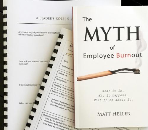 The Myth of Employee Burnout Supervisor Training Program
